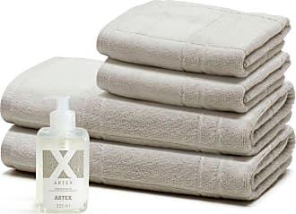 Artex Kit Sabonete Líquido Artex + Toalhas Barra Aveludada Le Bain Iron