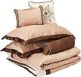 Madison Park Juliana 9 Piece Comforter Set, Beige, King