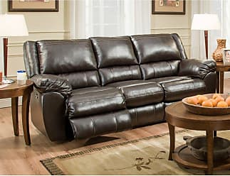 United Furniture Simmons Upholstery Bingo Motion Sofa - 50433BR-53 BINGO BROWN