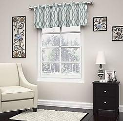 Ellery Homestyles KOZDIKO Eclipse Dixon Curtain Valance, 52 x 18, Robins Egg Blue