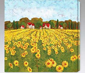 Gallery Direct Sunflower Vista I Indoor/Outdoor Canvas Print by Cecile Broz - NE37361