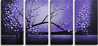Omax Decor Winter Solstice 4-Piece Canvas Wall Art - 48W x 24H in. - M 2022