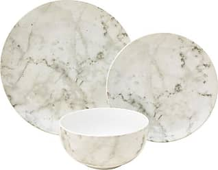 222 Fifth Marble 12 Piece Dinnerware Set - 3644WH797A7P07