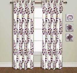 United Curtain Chelsea Window Curtain Panel, 54 by 84-Inch, Burgundy