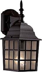 Minka Lavery Lighting 8717-66 1 Light Wall Mount in Black finish