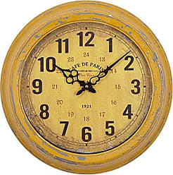 Yosemite Home Decor Yosemite Home Decor Circular Iron Wall Clock, Multi