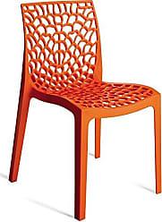 Artezanal Cadeira Gruvyer Laranja