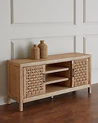 Hooker Furniture Ella Basket Weave Entertainment Console