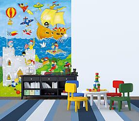 Ideal Decor Its A Boys World Wall Mural, Boys - DM428