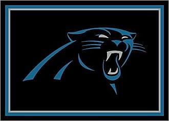 Milliken Carpet Carolina Panthers NFL Team Spirit Area Rug by Milliken, 310 x 54, Multicolored