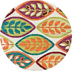 Loloi Rugs Loloi ISBEHIS04IVML300R Isabelle Area Rug, 3-0 x 3-0 Round, Ivory/Multi