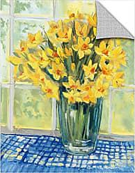 Brushstone Carol Rowan Window Floral IV Removable Wall Art Mural, 18X24