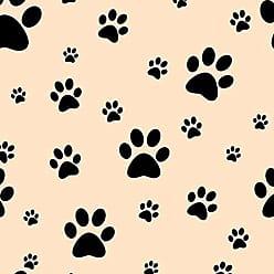 Lar Adesivos Papel de Parede Adesivo Animais Pet Shop Patinhas N4348
