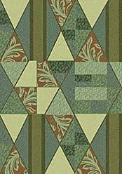 Milliken Carpet Milliken 4000032221 Pastiche Collection Valencia Area Rug 77 x 77 Round Beechnut Green