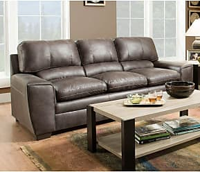 United Furniture Simmons Upholstery Shiloh Sofa - 9085-03 SHILOH GRANITE