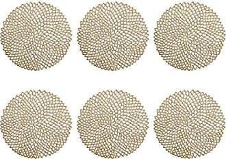 5x1 cm Plastique Zeller Set de Table Latte Macchiato 43,5x28,5cm en PP Noir