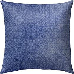 Kavka Designs Tiles Outdoor Pillow Brown - OPI-OP16-16X16-CAT4613
