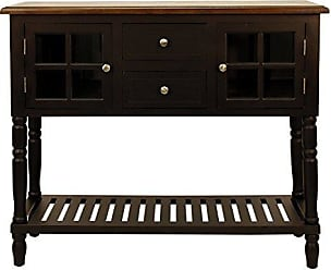 Decor Therapy FR8442 Accent Table, Black