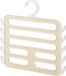 InterDesign Remy Closet Organizer Hanger for Camisoles, Scarves, Pashminas, Accessories-White/Gold