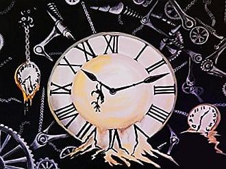 Buyartforless Buyartforless Clockwork Yellow 16x12 Art Print Poster Painting Decor by Ed Capeau Made in The USA