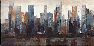 Art Maison Canada City Buildings View I Wall Art - HAYCC175BONL
