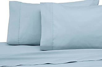 Westpoint Home Modern Living T300 Pillowcase Pair, King, Soft Aqua