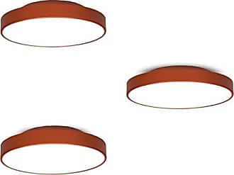 JD Molina Conjunto 3 Plafons MadeiraMadeira 25cm, 36cm e 50cm 380397 Cobre