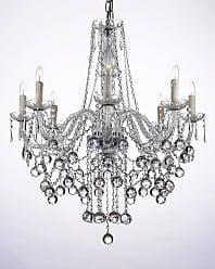 Harrison Lane J2-1033 8 Light 28 Wide Single Tier Crystal Chandelier
