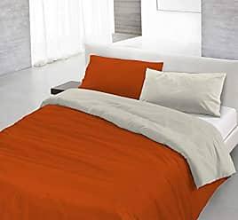 ITALIAN BED LINEN Parure Copripiumino Manu Pittura 744 Bianco//Multicolore singolo 150 x 200 cm