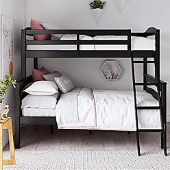 9d9ca710f7ef Dorel Home Products Dorel Living Brady Solid Wood Bunk Beds Twin Over Full  with Ladder and