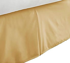 iEnjoy Home Hotel Collection Italian Luxury Bed Skirt - TwinXL - Gold