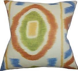 The Pillow Collection Rivka Geometric Bedding Sham Adobe European/26 x 26