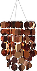Brewster Home Fashions Accessories Copper Eclipse Chandelier, Metallic