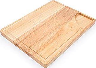Fox Run Craftsmen Fox Run 4151 Wood Carving Board with Juice Groove, Regular, Brown