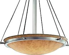 Justice Design Group Clouds Bowl Suspension with Ring-Small
