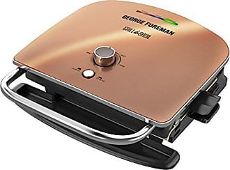 George Foreman Grill & Broil, 6-in-1 Electric Indoor Grill, Broiler, Panini Press, and Top Melter, Copper, GRBV5130CUX