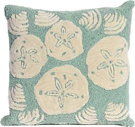 Liora Manne Frontporch Shell Toss Indoor/Outdoor Pillow Blue - 7FP8S140804