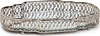 Mmartan Bandeja Metal Moldura Ornamental