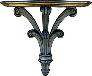 Hickory Manor House Prince William Bracket Decor, Old Black/Gold