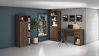 JCM Movelaria Conjunto Home Office 3 Peças Jcm Movelaria