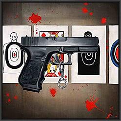 Ptm Images 9-13544 Money Shot I, Canvas Wall Art, Black
