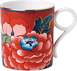 Wedgwood Paeonia Mug - Red
