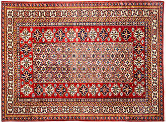 Solo Rugs Hand Knotted Area Rug, 51 x 610, Red