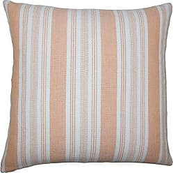The Pillow Collection Reiki Striped Bedding Sham Orange Standard/20 x 26