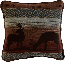 Wooded River Deer Meadow WD873 Decorative Pillow - WD873
