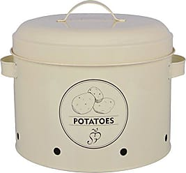 Esschert Design C2070 Potato Storage Tin, Metal