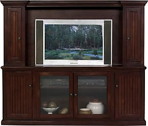 Eagle Furniture Coastal 80 in. Entertainment Console with Optional hutch with 54 in. Opening - EAGL389-10