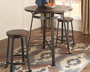 Ashley Furniture Challiman Counter Height Dining Room Table, Rustic Brown