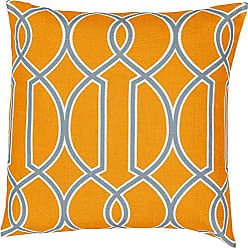 Surya FF037-2222P Synthetic Fill Pillow, 22 by 22-Inch, Tangerine