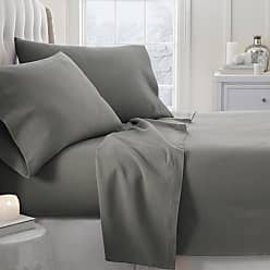 Noble Linens 800 Thread Count Premium Ultra Soft Solid Flannel Sheet Set by Noble Linens Light Navy, Size: Twin - NL-4PC-FSO-TWIN-LNAVY